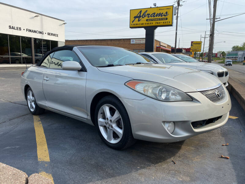 2006 Toyota Camry Solara for sale at Abrams Automotive Inc in Cincinnati OH