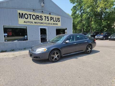 2010 Chevrolet Impala for sale at Motors 75 Plus in Saint Cloud MN