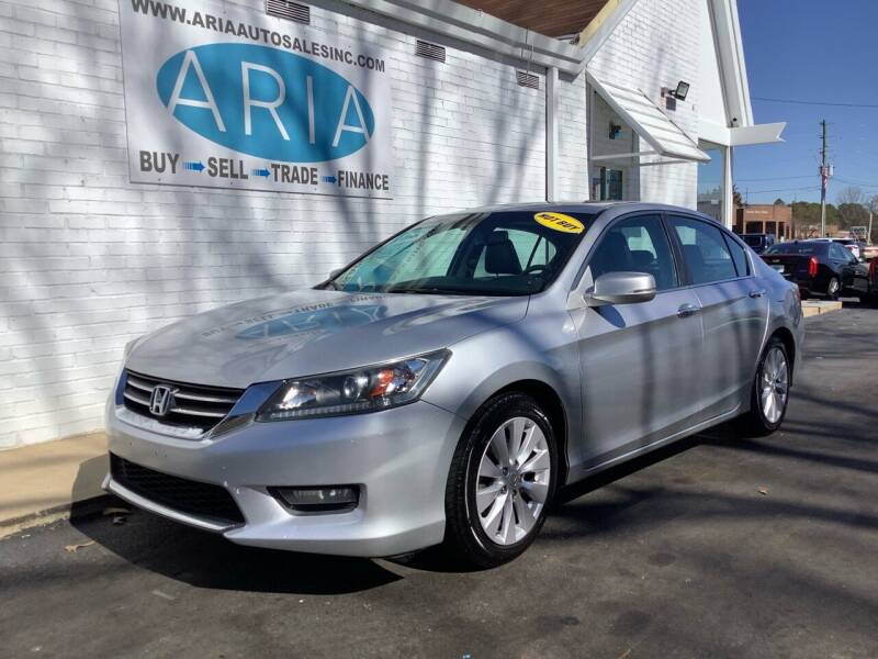 2014 Honda Accord for sale at ARIA  AUTO  SALES in Raleigh NC