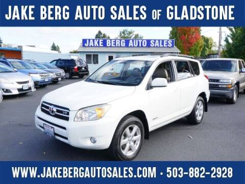 2007 Toyota RAV4 for sale at Jake Berg Auto Sales in Gladstone OR