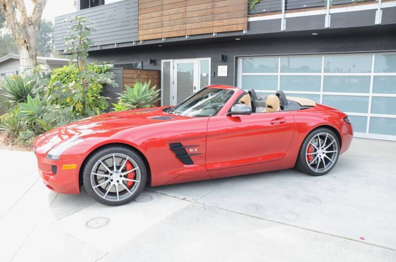 2013 Mercedes-Benz SLS AMG for sale at Urge to Drive LLC in Escondido CA