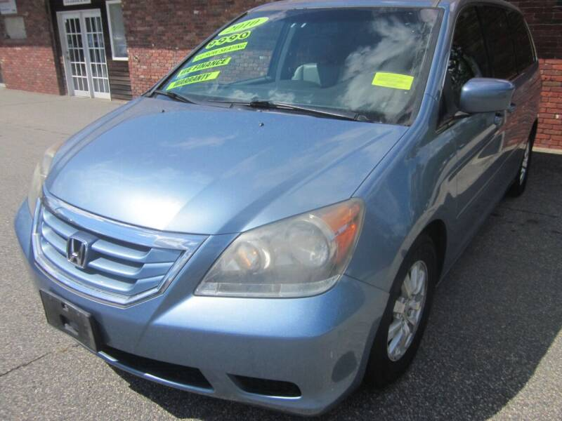 2010 Honda Odyssey for sale at Tewksbury Used Cars in Tewksbury MA
