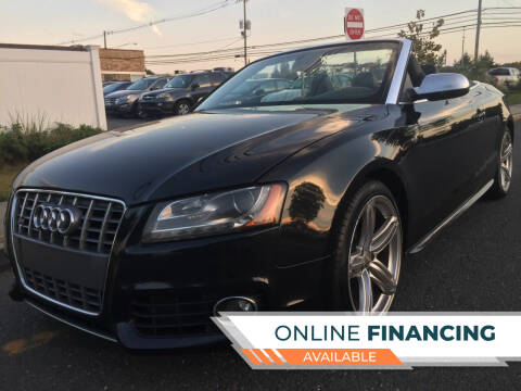 2011 Audi S5 for sale at New Jersey Auto Wholesale Outlet in Union Beach NJ