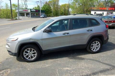 2014 Jeep Cherokee for sale at Park Ave Auto Inc. in Worcester MA