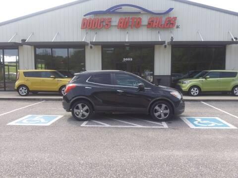 2013 Buick Encore for sale at DOUG'S AUTO SALES INC in Pleasant View TN