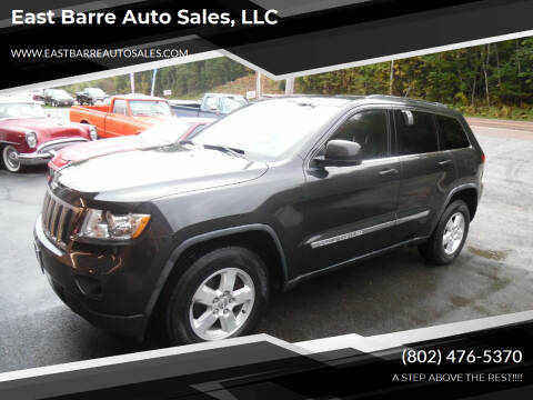 2011 Jeep Grand Cherokee for sale at East Barre Auto Sales, LLC in East Barre VT