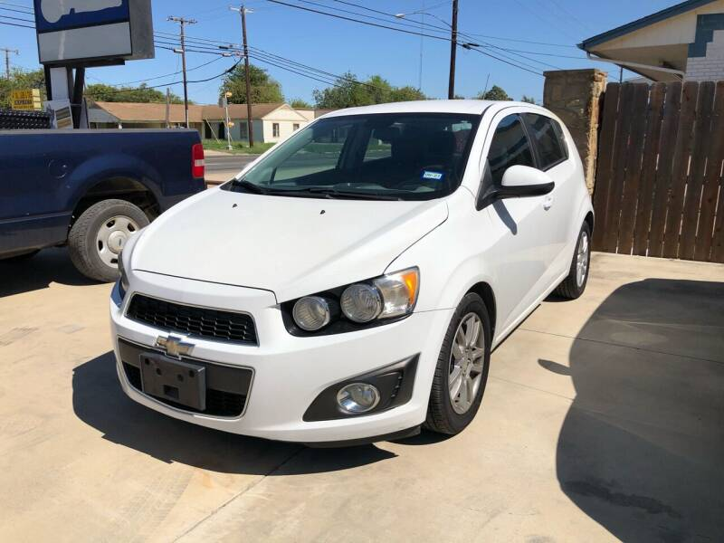 2012 Chevrolet Sonic for sale at Texas Auto Broker in Killeen TX