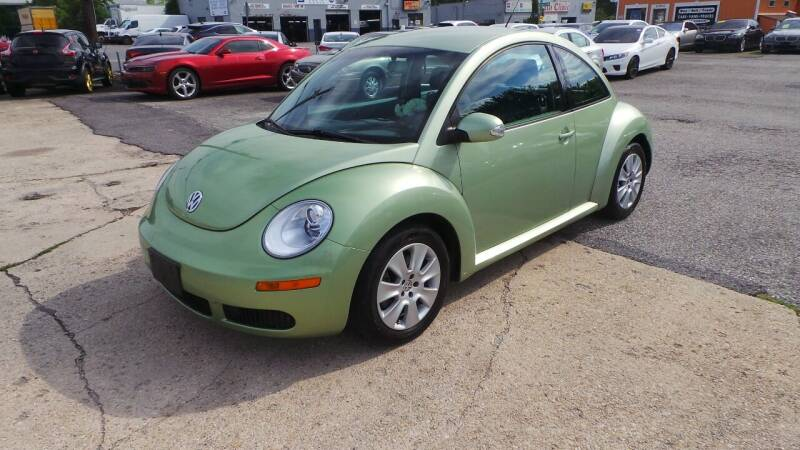 2008 Volkswagen New Beetle for sale at Unlimited Auto Sales in Upper Marlboro MD
