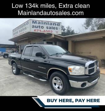 2006 Dodge Ram Pickup 1500 for sale at Mainland Auto Sales Inc in Daytona Beach FL