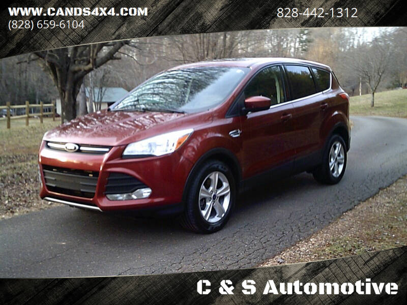 2014 Ford Escape for sale at C & S Automotive in Nebo NC