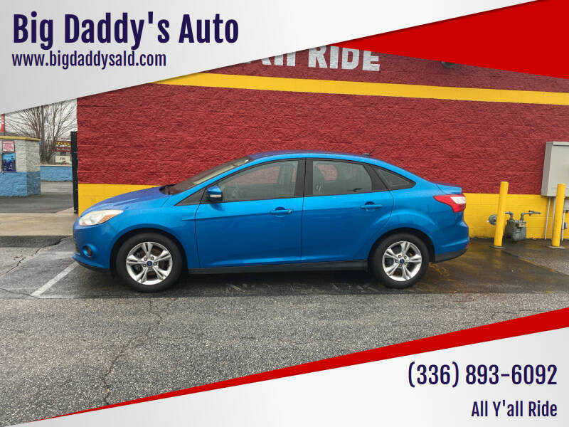 2013 Ford Focus for sale at Big Daddy's Auto in Winston-Salem NC