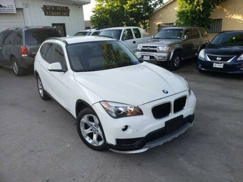 2015 BMW X1 for sale at DFW AUTO FINANCING LLC in Dallas TX