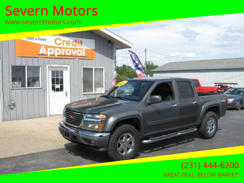 2010 GMC Canyon for sale at Severn Motors in Cadillac MI