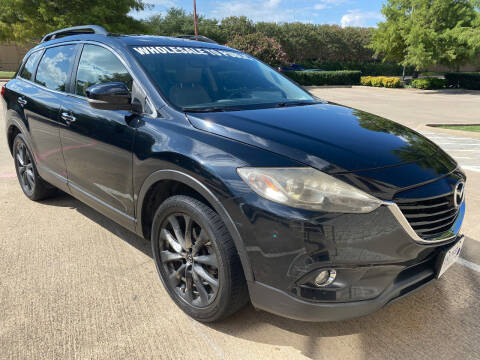 2015 Mazda CX-9 for sale at Ted's Auto Corporation in Richardson TX