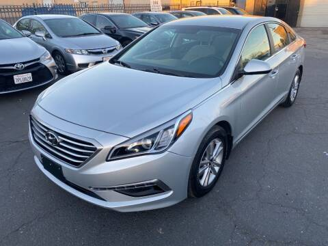 2015 Hyundai Sonata for sale at 101 Auto Sales in Sacramento CA