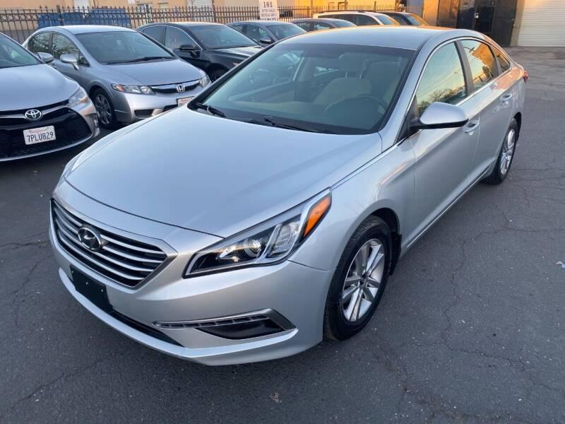 2015 Hyundai Sonata for sale at 101 Auto Sales in Sacramento CA