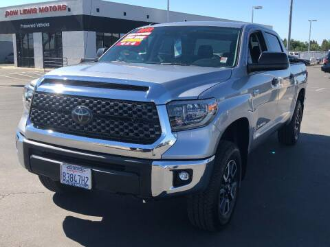 2018 Toyota Tundra for sale at Dow Lewis Motors in Yuba City CA