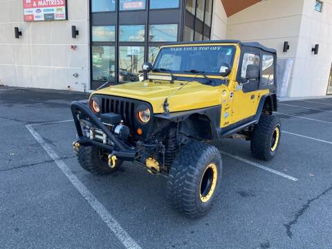 2001 Jeep Wrangler for sale at MAGIC AUTO SALES in Little Ferry NJ