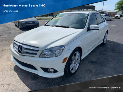 2010 Mercedes-Benz C-Class for sale at Northwest Motor Sports INC in Rogers AR