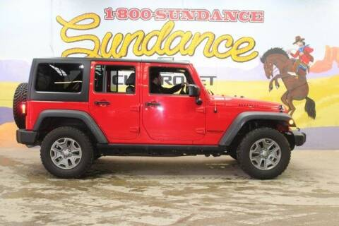 2017 Jeep Wrangler Unlimited for sale at Sundance Chevrolet in Grand Ledge MI
