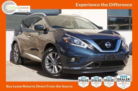 2018 Nissan Murano for sale at Dallas Auto Finance in Dallas TX