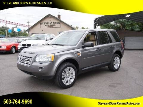 2008 Land Rover LR2 for sale at Steve & Sons Auto Sales in Happy Valley OR