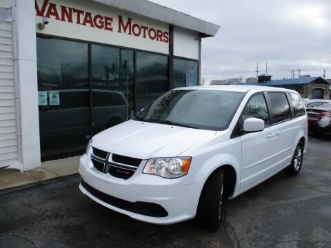 2017 Dodge Grand Caravan for sale at Vantage Motors LLC in Raytown MO