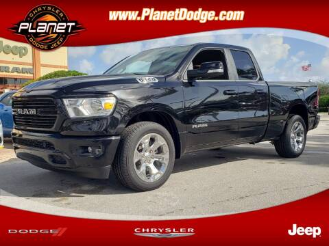 2019 RAM Ram Pickup 1500 for sale at PLANET DODGE CHRYSLER JEEP in Miami FL