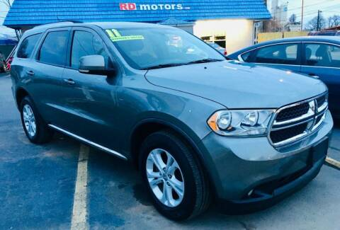 2011 Dodge Durango for sale at RD Motors, Inc in Charlotte NC