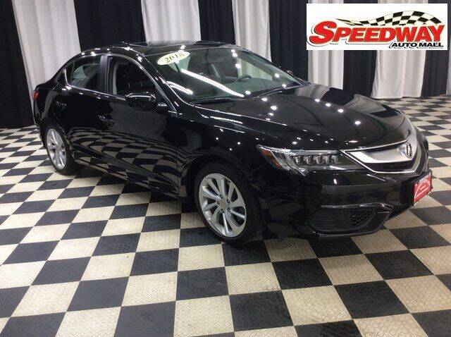 2018 Acura ILX for sale at SPEEDWAY AUTO MALL INC in Machesney Park IL