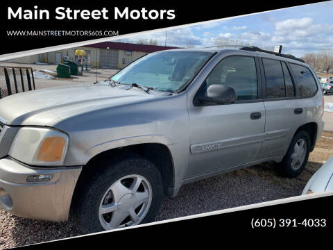 2003 GMC Envoy for sale at Main Street Motors in Rapid City SD