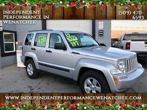 2012 Jeep Liberty for sale at Independent Performance Sales & Service in Wenatchee WA
