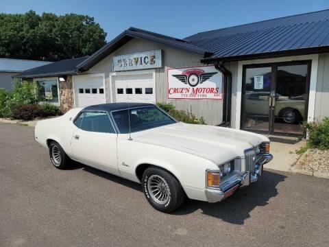 1971 Mercury Cougar for sale at CRUZ'N MOTORS - Classics in Spirit Lake IA