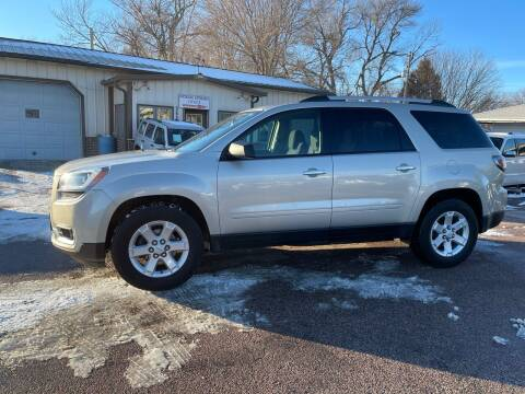 2014 GMC Acadia for sale at RIVERSIDE AUTO SALES in Sioux City IA