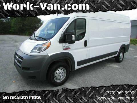 2018 RAM ProMaster Cargo for sale at Work-Van.com in Union City GA