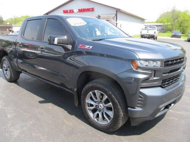 2020 Chevrolet Silverado 1500 for sale at Thompson Motors LLC in Attica NY