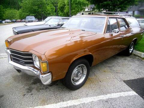 1972 Chevrolet Chevelle for sale at Black Tie Classics in Stratford NJ