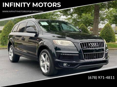 2013 Audi Q7 for sale at INFINITY MOTORS in Gainesville GA