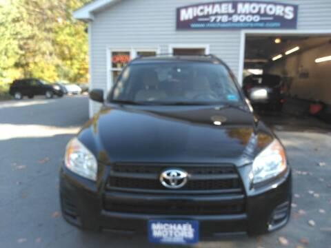 2010 Toyota RAV4 for sale at MICHAEL MOTORS in Farmington ME