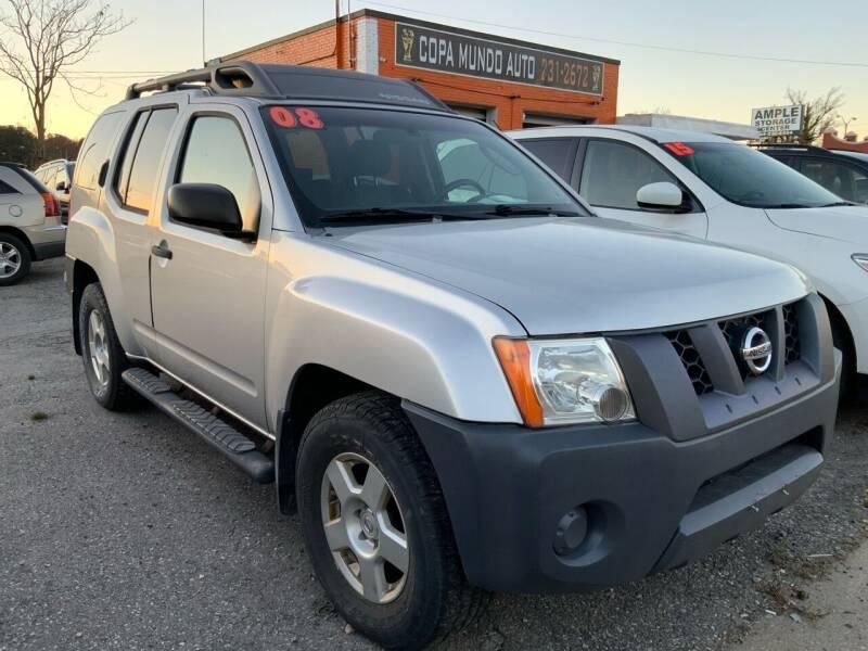 2008 Nissan Xterra for sale at Copa Mundo Auto in Richmond VA
