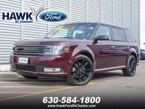 2019 Ford Flex for sale at Hawk Ford of St. Charles in Saint Charles IL