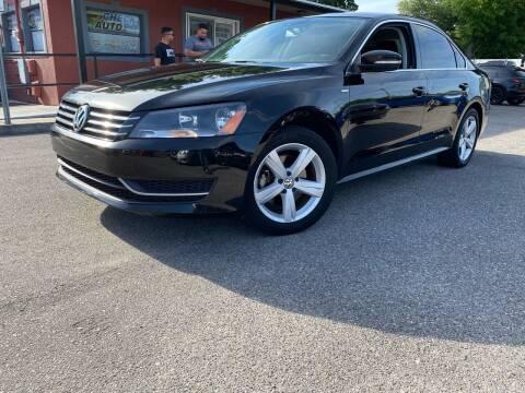 2014 Volkswagen Passat for sale at CHECK  AUTO INC. in Tampa FL