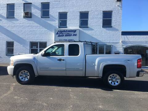 2011 Chevrolet Silverado 1500 for sale at Lightning Auto Sales in Springfield IL