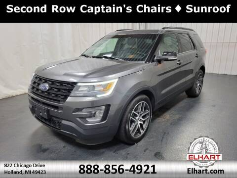 2016 Ford Explorer for sale at Elhart Automotive Campus in Holland MI