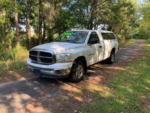 2006 Dodge Ram Pickup 1500 for sale at All About Price in Bunnell FL