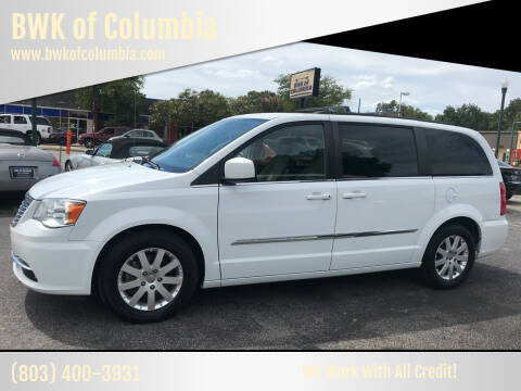 2016 Chrysler Town and Country for sale at BWK of Columbia in Columbia SC