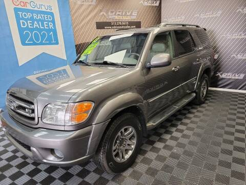 2003 Toyota Sequoia for sale at X Drive Auto Sales Inc. in Dearborn Heights MI