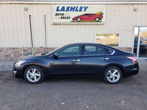 2015 Nissan Altima for sale at Lashley Auto Sales in Mitchell NE