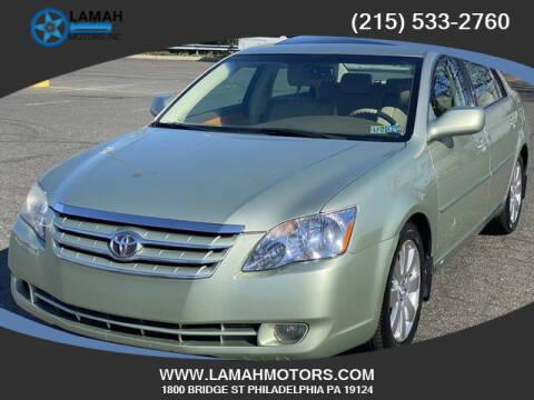 2007 Toyota Avalon for sale at LAMAH MOTORS INC in Philadelphia PA