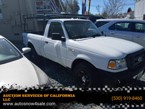 2007 Ford Ranger for sale at AUCTION SERVICES OF CALIFORNIA in El Dorado CA